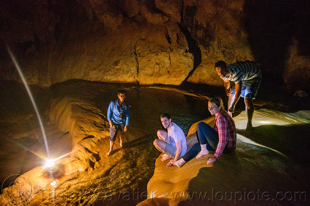 rimstone in sumaguing cave - sagada (philippines), cave formations, cavers, caving, concretions, flowstone, gours, natural cave, philippines, rimstone, sagada, speleothems, spelunkers, spelunking, sumaguing cave, water