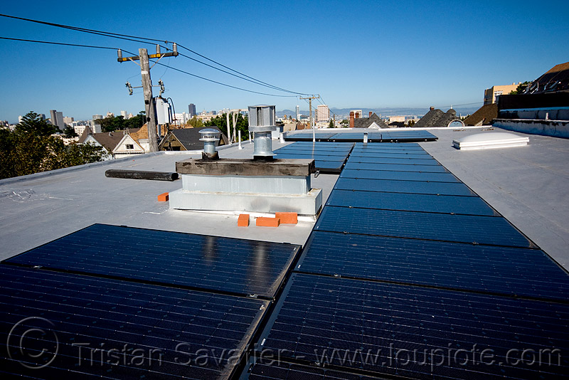 rooftop solar panels, electrical lines, electricity, photovoltaic, photovoltaic array, power, power lines, solar array, solar energy
