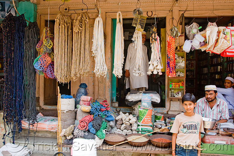 rope shop (india), market, rope shop, ropes, sailana
