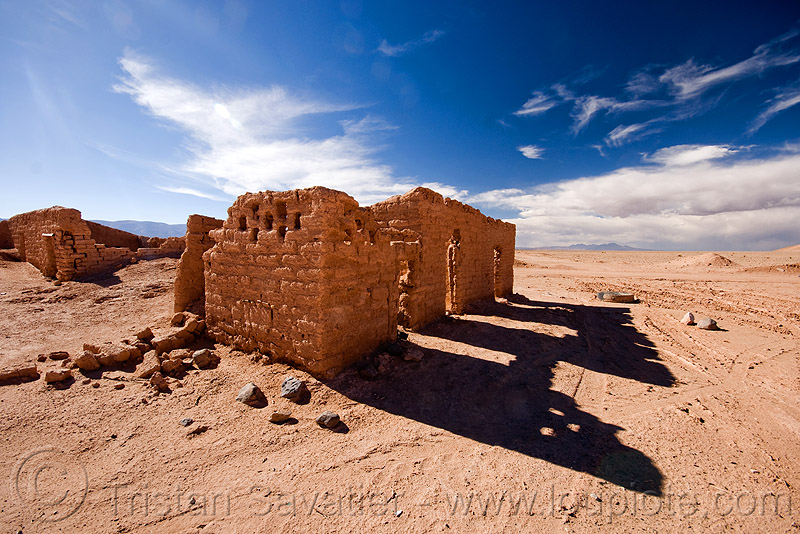 ruin of abandoned village, adobe, altiplano, argentina, house, noroeste argentino, pampa, ruins, village