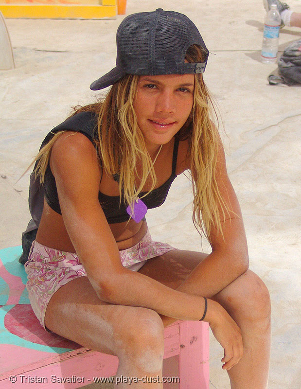 ruth parra, burning man, ruth parra, sitting, woman