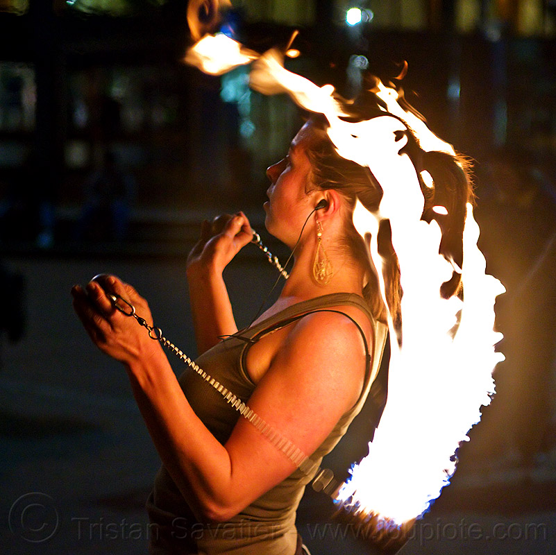 savanna breese spinning fire poi, fire dancer, fire dancing, fire performer, fire poi, fire spinning, night, savanna, woman