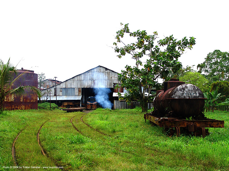 semi-abandoned train yard in puerto limon (costa rica), atlantic railway, costa rica, puerto limon, rusty, tankcar, train depot, train yard, trespassing