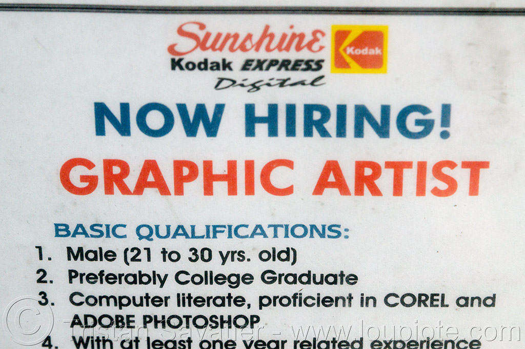 sexist job posting (philippines), job offer, job posting, philippines, sexism, sexist