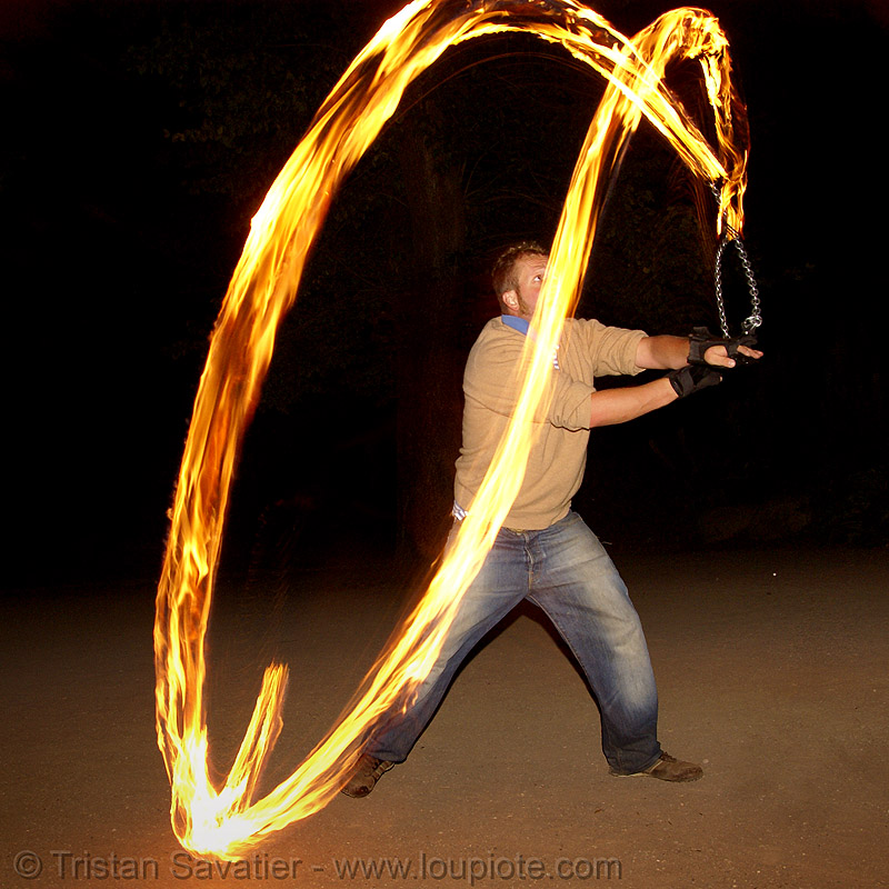 spinning fire poi (san francisco), fire dancer, fire dancing, fire performer, fire poi, fire spinning, flames, long exposure, night, spinning fire