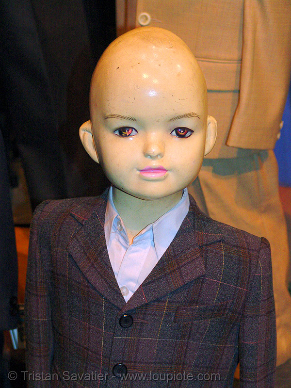 store dummy - bald head - vietnam, bald head, boy, eyes, hanoi, mannequin, store dummy, vietnam dummy