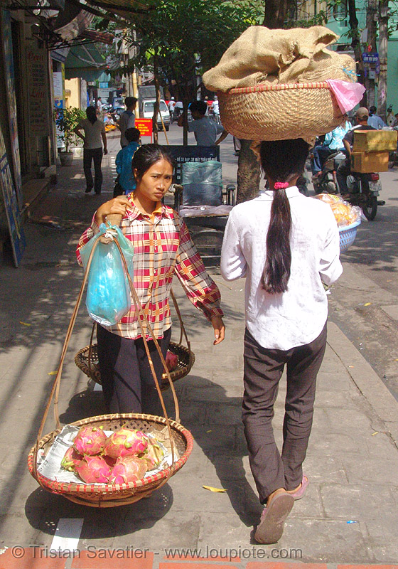street vendors (hanoi) - vietnam, people