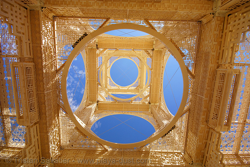 temple of forgiveness - burning man 2007