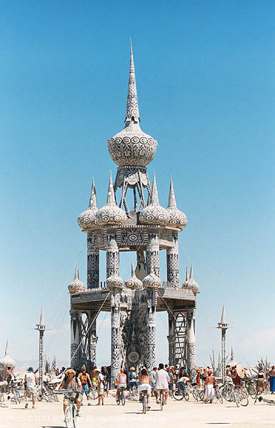 temple of honor by david best - burning-man 2003, art, burning man, david best, temple of honor