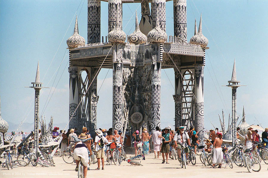 temple of honor by david best - burning-man 2003, art, burning man
