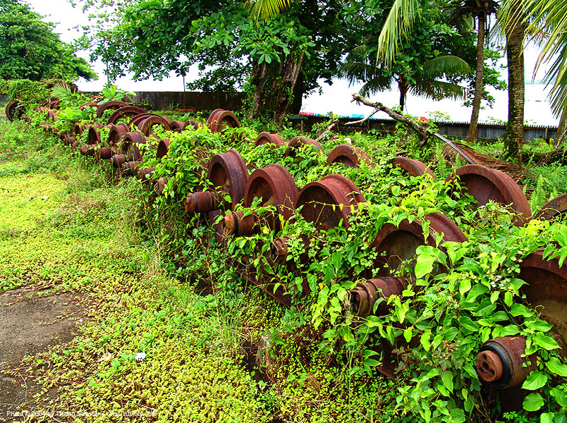 train axles - rusty, abandoned, atlantic railway, costa rica, decay, puerto limon, rusted, rusty, train axles, train depot, train wheels, train yard, trespassing, urban exploration