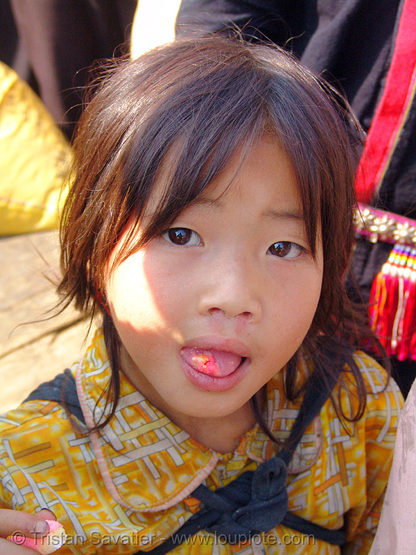tribe kid - vietnam, bảo lạc, child, girl, hill tribes, indigenous, little girl, people