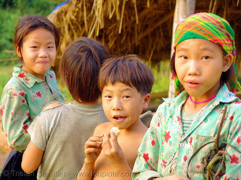 tribe kids - vietnam, children, hill tribes, indigenous, people