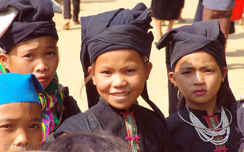 tribe kids - vietnam, children, girls, hill tribes, indigenous, kids, little girl, tribe girl