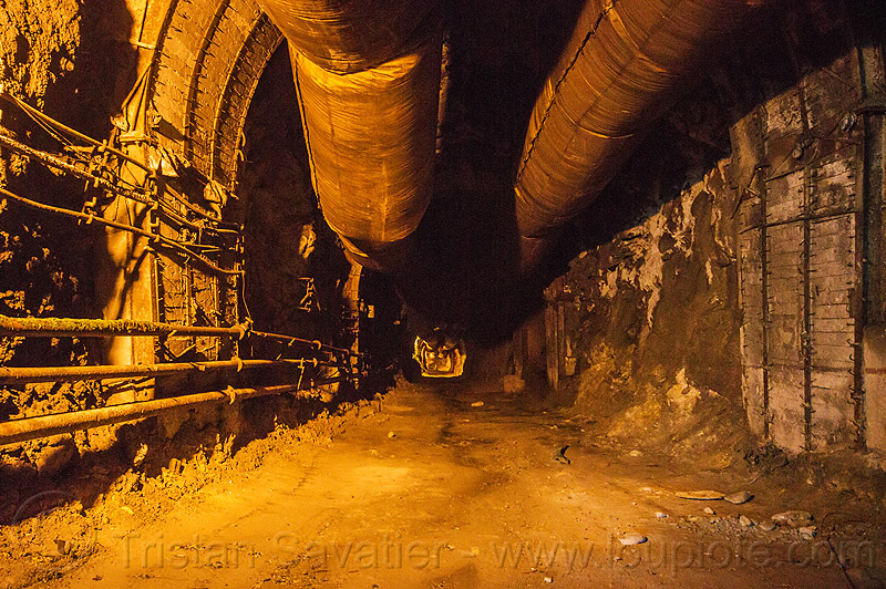 tunnel air ducts - lanco hydro power project - teesta river - sikkim (india), adit, air ducts, construction, hydro-electric, india, lanco, pipes, sikkim, teesta, tista, trespassing, tunnel, urbex, vanishing point