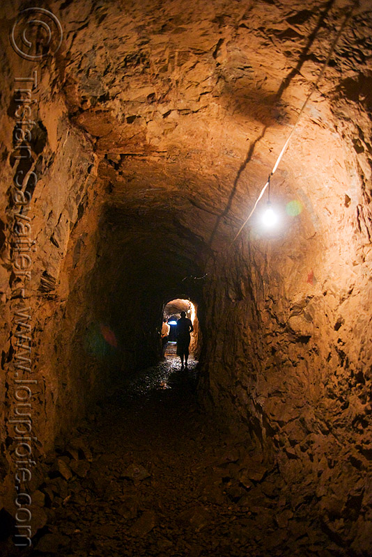 underground tunnel between bunkers (laos), adit, bunkers, caving, laos, natural cave, spelunking, trespassing, tunnel, urbex, viang xai