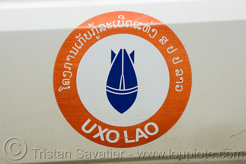 UXO LAO - unexploded ordnance (bombs) - laos, bomb disposal, landmine, laos, unexploded bombs, unexploded ordnance, uxo lao