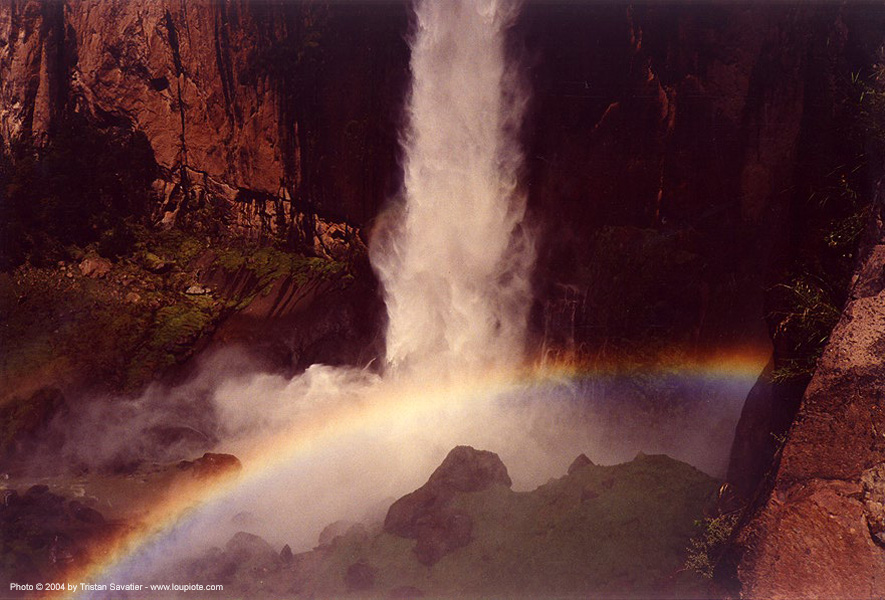 waterfall - rainbow - mexico - basaseachic, falls, miscset, water