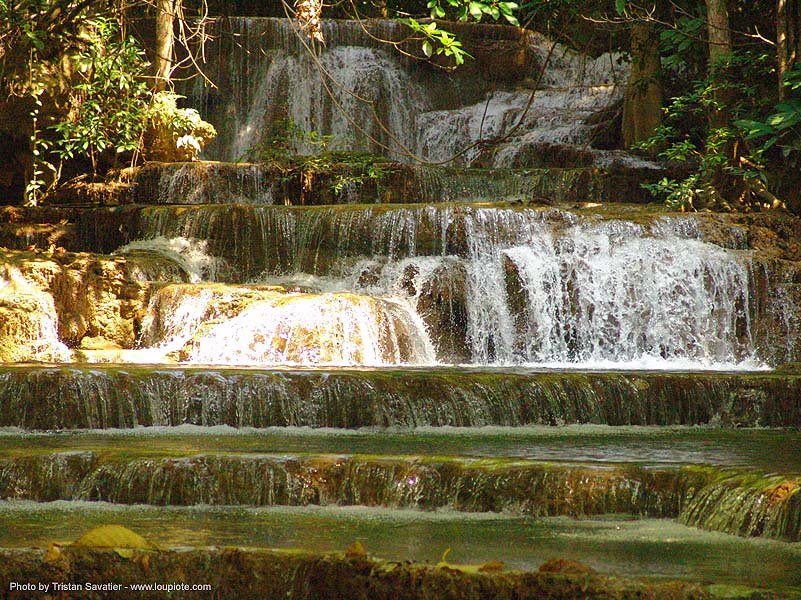 waterfall - thailand, cascade, falls, water, waterfall, ประเทศไทย