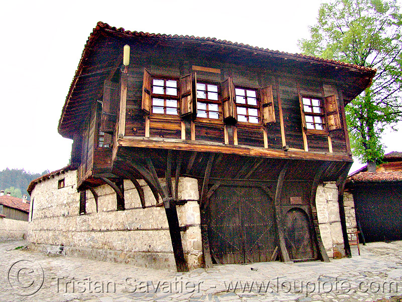 wood house (bulgaria), architecture, facade, old house, wooden, българия