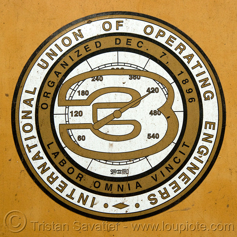 workers union - international union of operating engineers - three, labor union, operating engineers, three