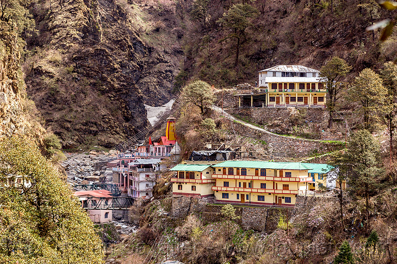 yamunotri (india), mountains