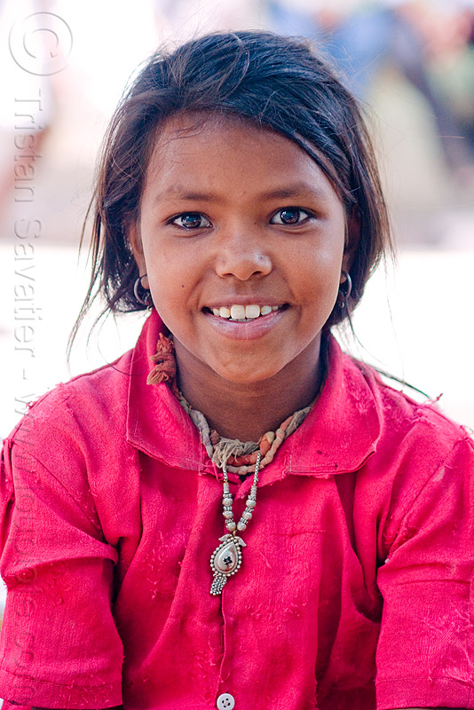 young girl - sailana (india), people