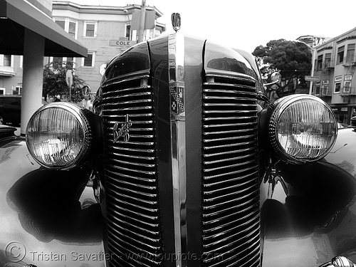 1937 buick century - front - headlights - the american dream, 1937, american dream, automobile, buick century, classic car, from, headlights, johnny stokes