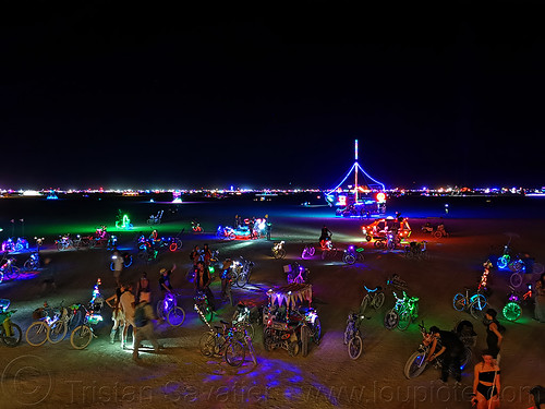 2019 - burning man, burning man, night
