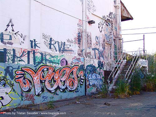 abandoned industrial area (san francisco), abandoned, decay, graffiti, trespassing, urban exploration