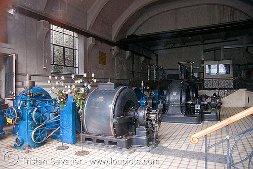 abandoned power plant - bad gastein (austria), bad gastein, electricity, generators, governor, hydro turbines, hydro-electric, pelton, power station, trespassing