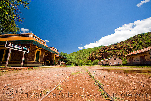 abandoned train station - estación alemania (argentina), argentina, cafayate, estacion alemania, estación alemania, noroeste argentino, train station