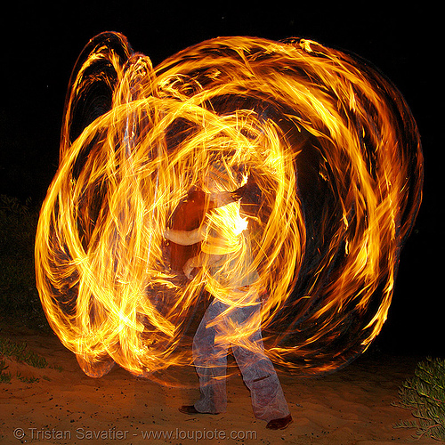 alex spinning poi (san francisco), fire dancer, fire dancing, fire performer, fire poi, fire spinning, night, shanti alex, spinning fire