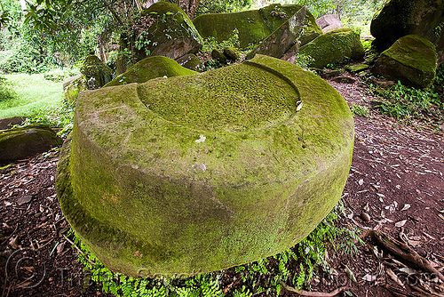 ancient round carving on stone - wat phu champasak (laos), hindu temple, hinduism, khmer temple, mossy, ruins, stone carving, wat phu champasak