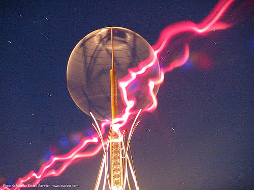 2004 - burning-man, art installation, burning man, long exposure, night