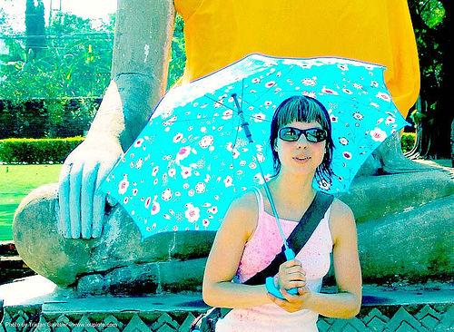 ayuthaya - anke-rega, anke rega, cross-processed, dxpro, woman, ประเทศไทย