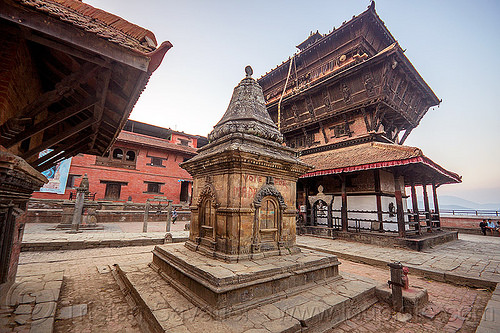 bagh bhairav temple - kirtipur (nepal), hindu temple, hinduism