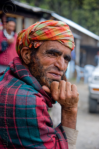 bearded man - jalori pass (india), beard, jalori pass, jalorila, man