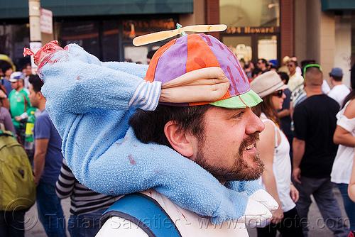 beheaded kid halloween headdress, beheaded, child, dead baby, decapitated, how weird festival, kid, man