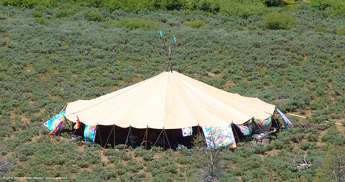 big-tipi - rainbow gathering - hippie, hippie, indian tipi, rainbow family, rainbow gathering