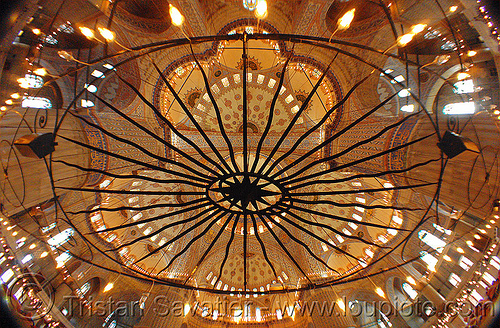 blue mosque - istanbul (turkey), architecture, blue mosque, fisheye, inside, interior, islam, istanbul, religion, sultanahmet