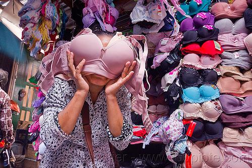 bra shop, bras, java, jogja, jogjakarta, lingerie, market, mask, merchant, shop, store, vendor, woman, yogyakarta, zombie