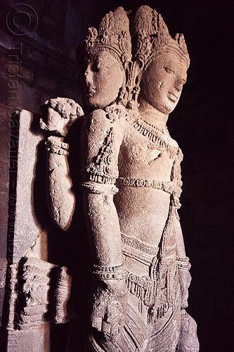 brahma statue, archaeology, brahma, candi prambanan, deity, goddess, hindu temple, hinduism, java, jogja, jogjakarta, ruins, sculpture, statue, stone, yogyakarta