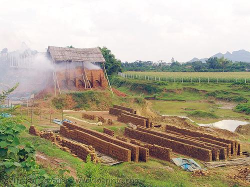 brick kiln, brick factory, brick hoven, brick kiln, brick plant, bricks