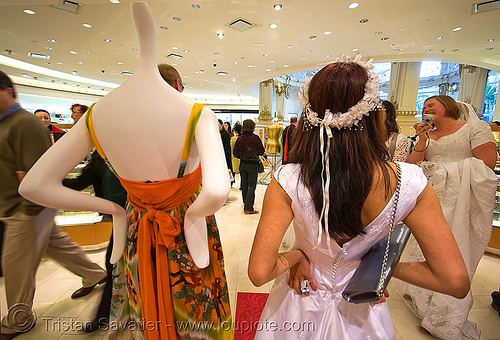 brides of march (san francisco), bride, brides of march, mannequin, store dummy, wedding