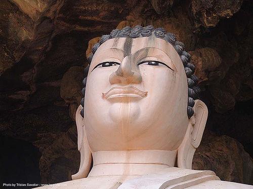 พระพุทธรูป - buddha head - statue - thailand, buddha image, buddha statue, buddhism, head, sculpture, ประเทศไทย, พระพุทธรูป