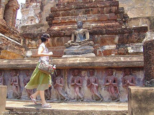 พระพุทธรูป - buddha statue - อุทยาน ประวัติศาสตร์ สุโขทัย - เมือง เก่า สุโขทัย - sukhothai - thailand, anke rega, buddha image, buddha statue, buddhism, buddhist temple, cross-legged, low relief, ruins, sculpture, sukhothai, woman, ประเทศไทย, พระพุทธรูป, สุโ�\xb8\x82ทัย, อุทยาน ประวัติศาสตร์ สุโขทัย, เมือง เก่า สุโขทัย