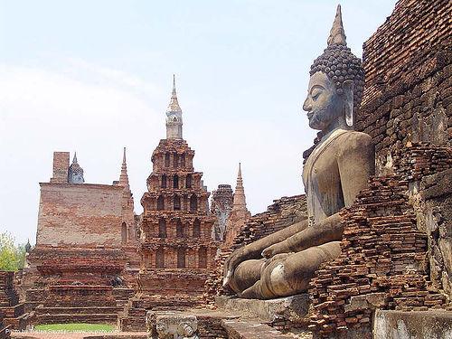 พระพุทธรูป - buddha statue - อุทยาน ประวัติศาสตร์ สุโขทัย - เมือง เก่า สุโขทัย - sukhothai - thailand, buddha image, buddha statue, buddhism, buddhist temple, cross-legged, ruins, sculpture, stupa, sukhothai, ประเทศไทย, พระพุทธรูป, อุทยาน ประวัติศาสตร์ สุโขทัย, เมือง เก่า สุโขทัย