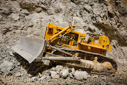 bulldozer clearing boulders - road construction - ladakh (india), at work, bd80, beml, bulldozer, dozer, groundwork, heavy equipment, hydraulic, ladakh, machinery, road construction, roadworks, rubble, working