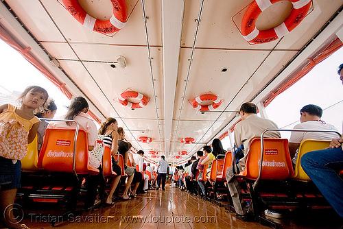 bus-boat - bangkok (thailand), bangkok, bus-boat, บางกอก, ประเทศไทย